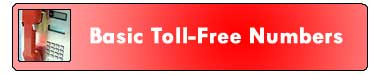 0 basic toll free3 Vanity Toll Free Numbers 866 numbers and toll free area codes
