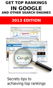 search engine optimization book copy 179x300 More SEO experts realizing the benefit of on site toll free numbers